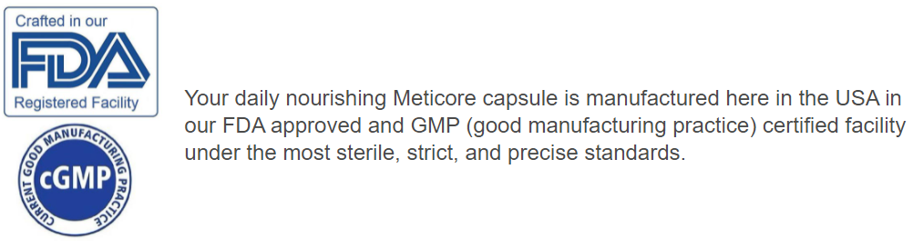 Meticore FDA Approved